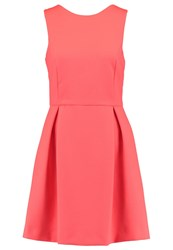 Ikks Summer Dress Neon Coral
