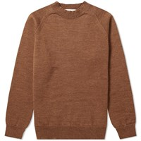 Mhl By Margaret Howell Crew Knit Brown