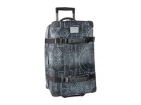 Burton Wheelie Cargo Travel Luggage Bandotta Print Luggage Blue