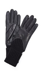Agnelle Cecilia Texting Gloves Black