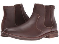 Dockers Badger Red Brown Burnished Full Grain Men's Pull On Boots