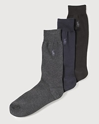 Polo Ralph Lauren Men's Knit Socks Navy