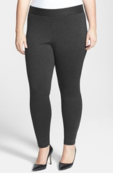 Vince Camuto Leggings Plus Size Dark Heather Grey