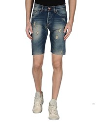 Minimal Denim Denim Bermudas Men