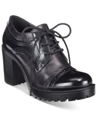 Mojo Moxy Dolce By Rosemary Lace Up Oxfords Women's Shoes Black