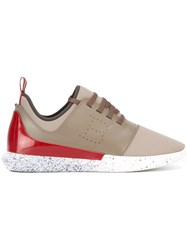 Bally 'Avro' Trainers Nude Neutrals