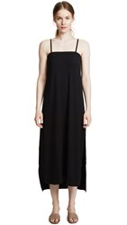 Getting Back To Square One Sleeveless Maxi Dress Black