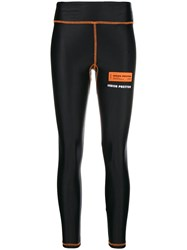 Heron Preston Bi Stretch Performance Leggings Black