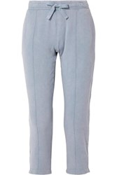 Atm Anthony Thomas Melillo Chroma Cotton Terry Track Pants Blue