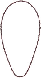 Damir Doma Purple Beaded Alicia Necklace