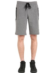 Versace Medusa Patch Cotton Sweat Shorts