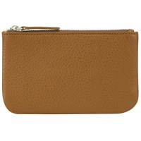John Lewis Aly Leather Coin Purse Tan