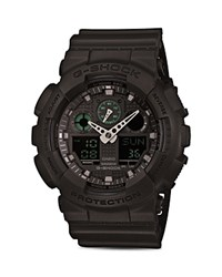 G Shock Military Analog Digital Combo Multi Function Watch 55Mm Black