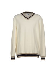 Faconnable Knitwear Jumpers Men Ivory
