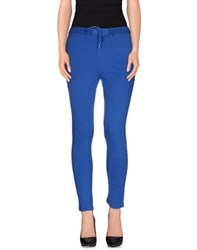 Rossopuro Trousers Casual Trousers Women Blue