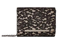 Jessica Mcclintock Katie Lace Shoulder Bag Black Champagne Shoulder Handbags