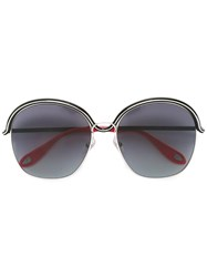 Givenchy Circle Wire Sunglasses Black