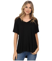 Culture Phit Viola Modal Short Sleeve Top Black Women's Clothing