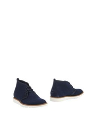 Wesc Ankle Boots Dark Blue