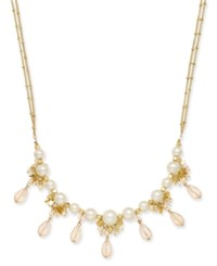 Inc International Concepts Catherine Stein For Gold Tone Imitation Pearl Multi Bead Long Double Strand Necklace Only At Macy's