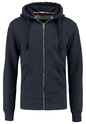 Superdry Tracksuit Top Deep Indigo Dark Blue