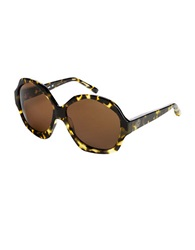 House Of Harlow Anais Leopard Sunglasses