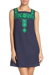 Tory Burch Women's Amira Embroidered Cover Up Dress