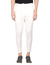 D.Gnak By Kang.D Casual Pants Ivory