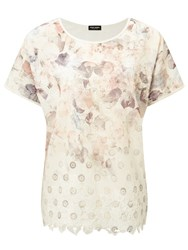Gerry Weber Embroidered Printed Top Multi
