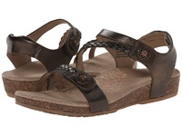 Aetrex Jillian Quarter Strap Bronze Women's Sandals