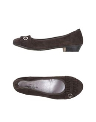 Santa Lucia Ballet Flats Dark Brown