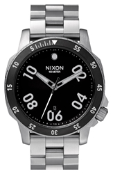 Nixon 'The Ranger' Bracelet Watch 44Mm Silver Black