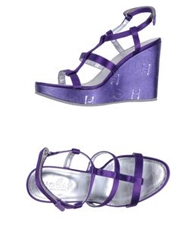 Hogan Wedges Purple