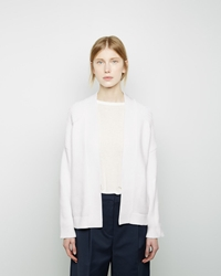 3.1 Phillip Lim Bias Rib Cardigan White
