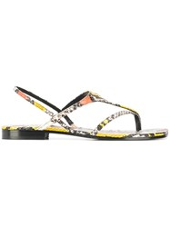 Zadig And Voltaire Dillon Wild Sandals Yellow