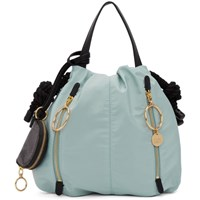 See By Chloe Blue Small Flo Tote