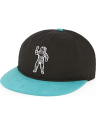 Billionaire Boys Club Astronaut Cotton Blend Strapback Cap Black