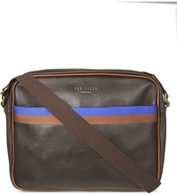 Ted Baker Woverz Cross Body Bag Chocolate