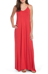 Loveappella Maxi Dress Red Lipstick