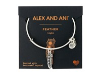 Alex And Ani Path Of Symbols Feather Ii Bangle Rafaelian Silver Bracelet