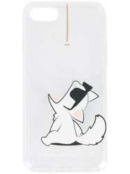 Karl Lagerfeld Choupette Fun Cord Iphone 8 7 Case Nude And Neutrals