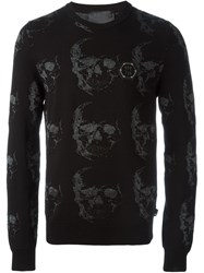 Philipp Plein 'Friday' Sweater Black