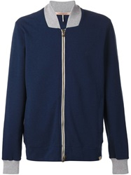 Capobianco Bomber Jacket Blue