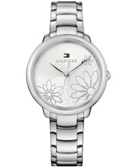 Tommy Hilfiger Women's Casual Sport Stainless Steel Bracelet Watch 36Mm 1781782 A Macy's Exclusive Style Silver