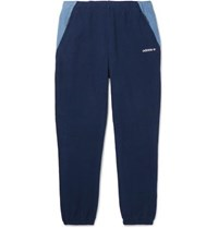Adidas Eqt Tapered Colour Block Fleece Sweatpants Navy