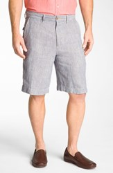 Tommy Bahama 'Line Of The Times' Relaxed Fit Striped Linen Shorts