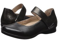 Dansko Audrey Black Nappa Women's Flat Shoes