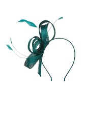 Coast Araminta Fascinator Forest
