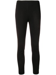 Les Copains Creased Trousers Black