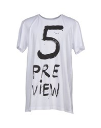 5Preview Topwear T Shirts Men White